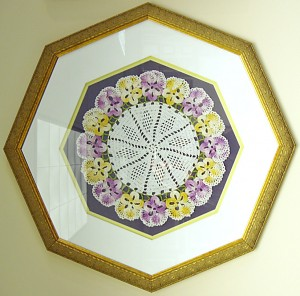 Crochet in Octagon Frame