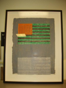 Jasper Johns lithograph