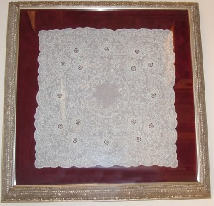 Antique Lace Handerchief