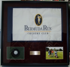 Hole in one memorabilia